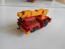 Corgi Juniors Mobile Crane in Red/Orange