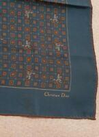 Christian Dior  scarf silk100% vintage