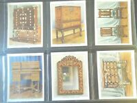 1938 THE KINGS ART TREASURES antique furniture set 40 cards Tobacco Cigarette