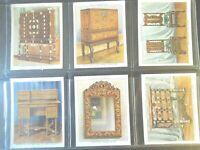 1938 THE KINGS ART TREASURES antique furniture set 40 cards Tobacco Cigarette