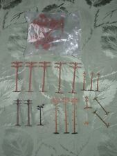 Vintage Ho Telephone Poles and Other Miscellaneous Accessories