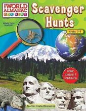 World Almanac for Kids (Teacher Created)- Scavenger Hunts grades 3-5 paperback