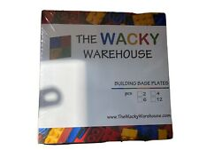4 X LEGO Green Building Base Plates From The Wacky Warehouse
