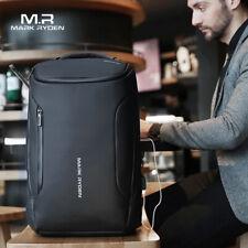 33L Men Backpack Anti-Thief Waterproof Travel Updated Version Multi USB Backpack