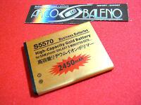 Batteria 2450Mah SAMSUNG GALAXY NEXT GT S5570 TURBO S5570i POTENZIATA MAGGIORATA
