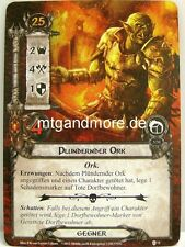 Lord of the Rings LCG  - 2x Plündernder Ork  #072 - Begegnung am Amon Din