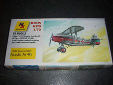 RS MODELS ARADO AR-65 BULGARIA WWII  RESINE MODEL 1/72