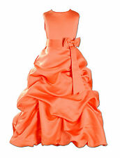 Flower Girl Dress Bridesmaid Party Dress 13 Colours From 18 Months to 12 Years