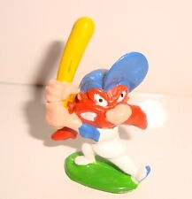 PETITE FIGURINE LOONEY TUNES WARNER BROS SAM LE PIRATE BASEBALLE N° 16 (3,5x2cm)