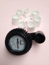 Pressure Gauge For Inflatable Dinghy, Boat, RIB, Airbed - AS17