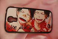 Samsung Galaxy S4 case Anime leather Phone case One Piece Luffy & Ace