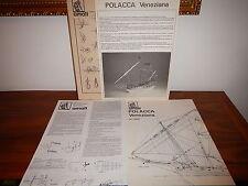 POLACCA VENEZIANA AMATI PIANO MODELLISMO NAVALE ART. 1007