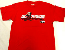 Espn Athens Georgia Go Bulldogs Football Short Sleeve T-Shirt Tee Large New