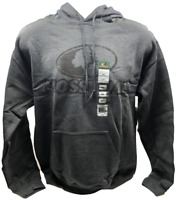 Mossy Oak Men's Camo Hoodie Pullover - Dark Gray - Size M L & XL