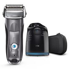 Braun Series 7 Elektrorasierer Herren 7865cc Premium Edition mit Reinigungs- und