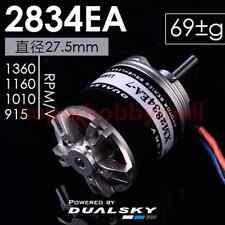 DUALSKY XM2834EA EA Series Brushless Outrunner Motor 915/1010/1160/1360kv