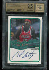 2003-04 TOPPS MARK OF EXCELLENCE CARMELO ANTHONY AUTO RC BGS GEM MINT 9.5 10