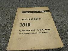 John Deere 1010 Crawler Loader Tractor Shop Repair Service Manual Sm2046
