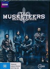 The Musketeers Series Three DVD 3 Third Region 4Tom Burke Satiago Cabrera