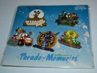 Disney Parade Of Memories Annual Passholder Booster 5 Pin Set 108303 HTF