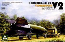 1/35 Takom WW.II German V2 Rocket w/Hanomag SS100 Tractor + Vidalwagen  #2110