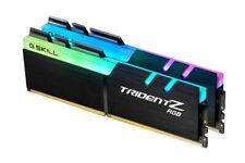 16GB G.Skill DDR4 TridentZ RGB 3200Mhz PC4-25600 CL16 1.35V Dual Chnl Kit 2x8GB