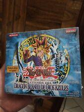 Yugioh 1st Edition The Legend Of Blue Eyes White Dragon LOB SPANISH Box GEM MINT
