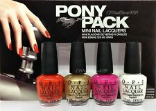OPI Nail Lacquer - PONY PACK Mini Collection-MUSTANG FORD - 4 colors x 1/8oz