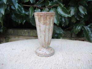 Vintage  Cast Metal Garden Urn  Floristry  Vase 16 cm high (42)
