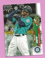 2020 Topps Holiday Mallex Smith MH57 Seattle Mariners