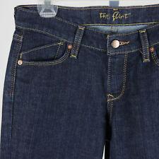 "Old Navy The Flirt Boot-Cut Jeans Womens 2L Long 33"" Inseam Dark Wash Blue Denim"