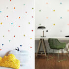 75 Pcs Triangles Wall Stickers For Kids Room Pvc Vinyl Art Decal Home Decor