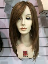 Lana Human Hair Wig by Seduction - Medium/Light Brown Mix Color
