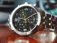 TISSOT PRC 200 Chronograph BLACK Dial T055.417.11.057.00