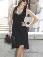 NEU SUMMER DRESS! ATTRAKTIV JERSEY KLEID GR. 34 38 40 42 VIVANCE schwarz *542099