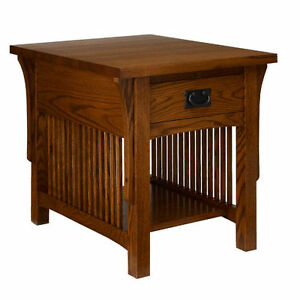 A. A. Laun Arts & Crafts End Table With Drawer #8402  -  ON SALE!!!