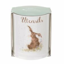 Royal Worcester Wrendale Utensil Jar Holder Hare Bone China Kitchen Tidy Storage