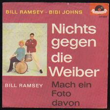 "NUR 7"" COVER Bill Ramsey Bibi Jones Nichts gegen die Weiber 7"" COVER"