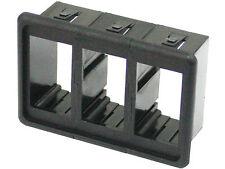 3 X Soporte de Tipo Rocker Switch Panel Carling Universal Hilux Jeep Patrulla landcrui
