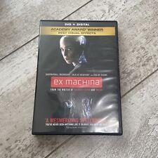 Ex Machina (Dvd, 2015) Domhnall Gleeson, Alicia Vikander- Excellent Sci-Fi Film!