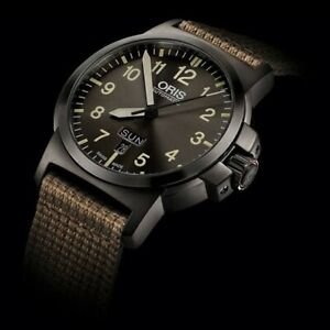 Oris Bc3 Advanced Day Date 42mm Automatic Watch