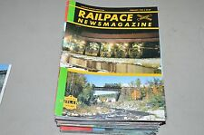 Railpace News Magazine Train RR 1985 February Geen Mtn VT Rutland Ry LV CNJ