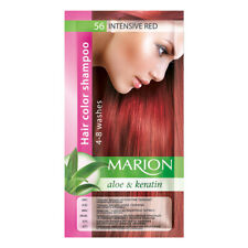 24 Marion Temporary Hair Colour Shampoo Dye Sachet 4 to 8 Wash Out + GLOVES