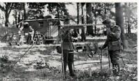 """WW 2  ++  Nachrichtentruppe (1) """"Fernsprechstelle im Wald"""""""