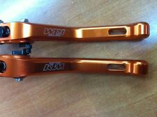 KIT DE MANETAS REGULABLES ALUMINIO KTM DUKE 125 200 2012 AÑO 12 13 14 15 2014