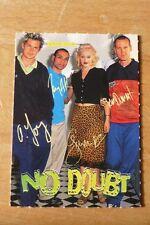 Bravo Sammelkarte No Doubt Gwen Stefani Tony Kanal Tom Dumont Adrian Young