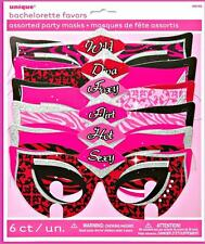 6 Hens Party Night Bachelorette Party Masks/Bachelorette Party Supplies Costumes