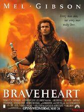 'Braveheart'  FILM POSTER  FRIDGE MAGNET