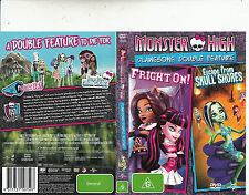 Monster High:Fright On/Monster High Escape From Skull Shores-2012-Animated-DVD