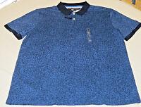 Men's Tommy Hilfiger Polo Short Sleeve shirt XL Custom Fit 78A3202 navy blue 409